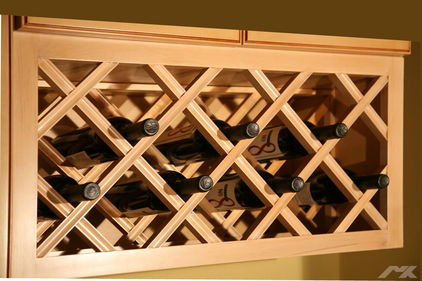 Stojaki Na Wino W Kuchni Portal Branżowy Meble Kuchenne