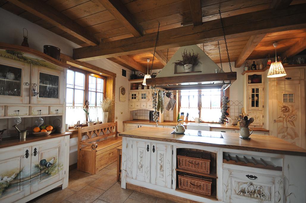 kuchnie drewniane wiejskie meenutcom najlepszy pomys�