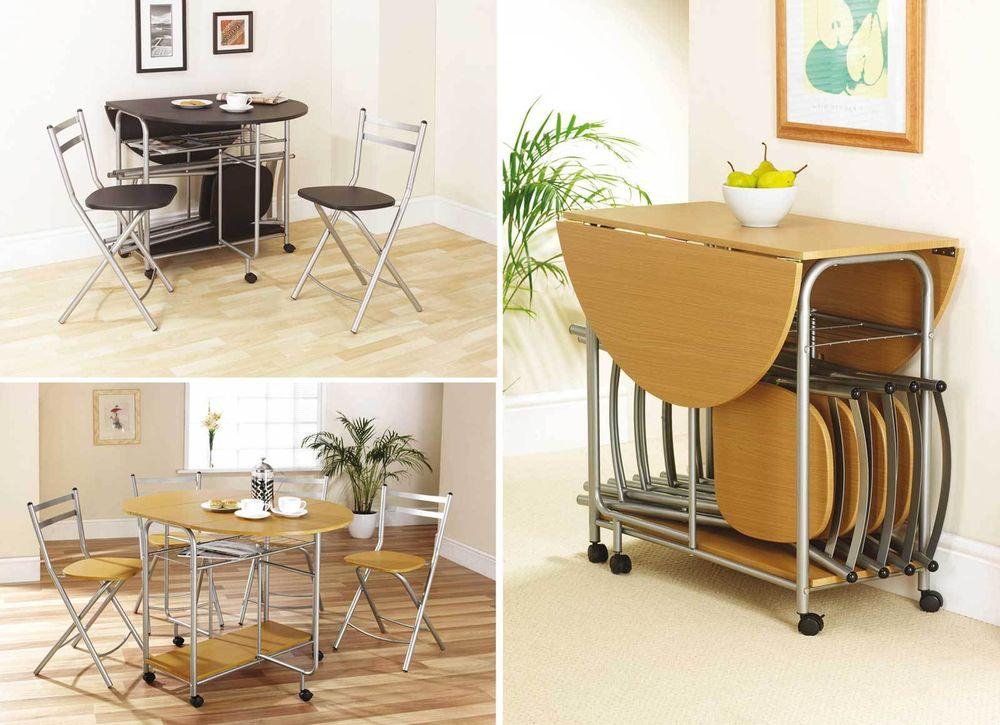 Składanane Krzesła I Stół Do Kuchni Portal Branżowy